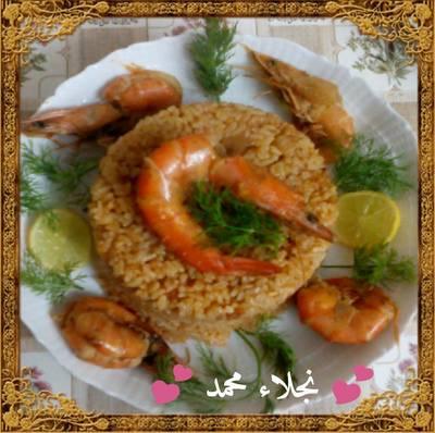 طريقة عمل ارز السمك اللذيذ