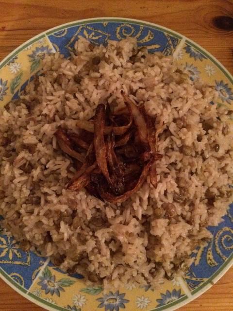 طريقة عمل مجدرة الرز عالطريقة السورية