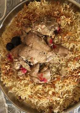 كبسة الدجاج بالفرن 👌
