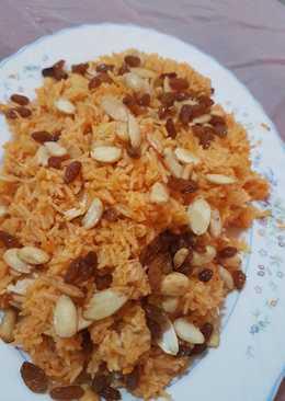 ارز بخاري بصدور الدجاج