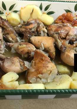 دجاج بالفرن
