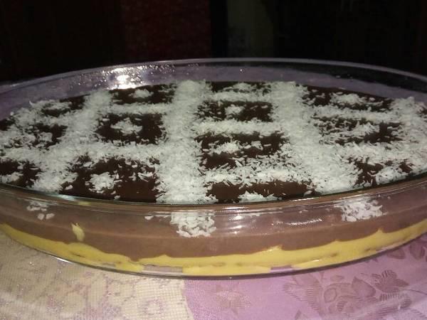 طبقات الكاسترد والكاكاو