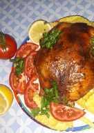 دجاج محمر عالطريقة السورية