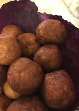 كرات البطاطس المحشية بطريقة (هند اسامة)