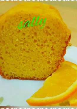 كيك البرتقال السهل والسريع