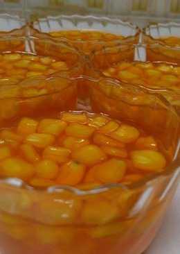 حلوى الجيلاتين بالذرة الصفراء الحلوة
