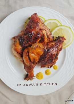 دجاج مشوي بالتتبيلة الرهيبة