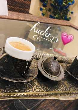 قهوة تركيه بالفول السوداني