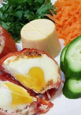 بيض بالطماطم #فطور #عشاء #أكلات_للعروس