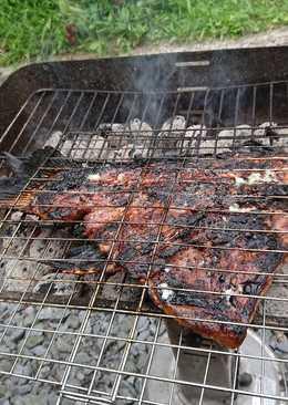 سمكة 🐠 حارة على الفحم 😋
