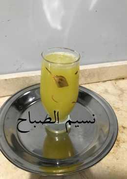 عصير الكانتالوب بطعم البرتقال