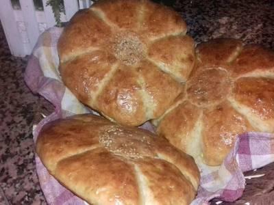 خبز الدار سهل و سريع