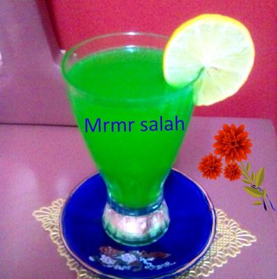عصير الليمون بالنعناع🍸
