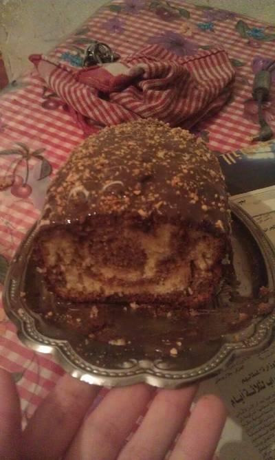 الكيكة الرخامية 🎂