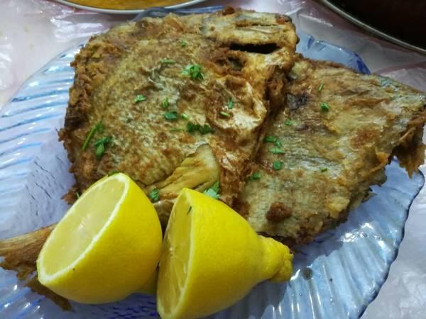 سمك زبيدي مقلي