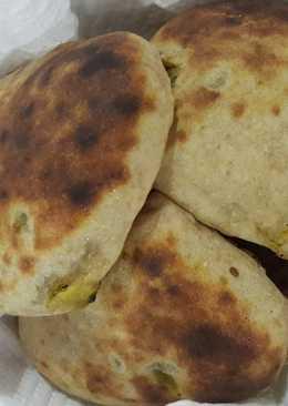 خبز عربي بالدجاج صحيه ولذيذه