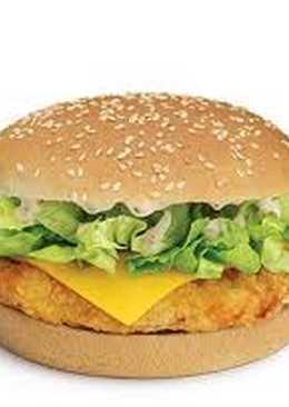 برجر دجاج مثل المطاعم كنتاكي