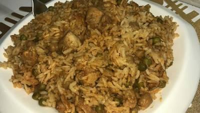 أرز في كيس الشواء