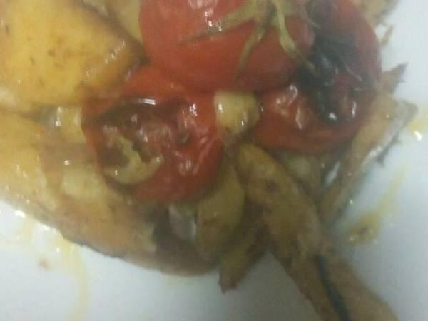 بطاطس????بالزعتر في الفرن