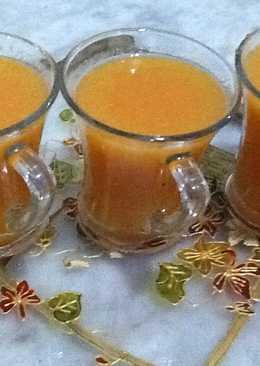 عصير الخوخ المنعش في رمضان