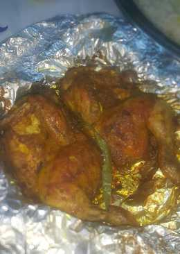 دجاج مشوي في الفرن (مبخر)🍗🍗