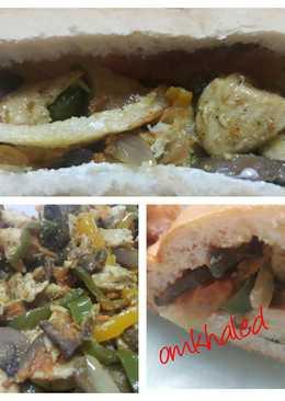 ساندوتشات صدور الدجاج