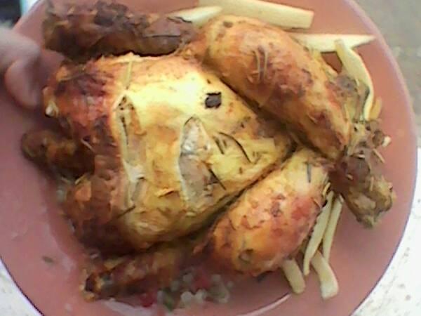 دجاج مصلي