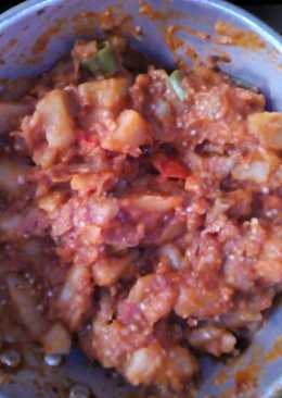 صينية بطاطا وباذنجان 😋😋