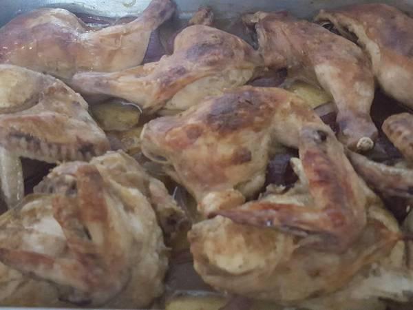 صينة الدجاج بلخضار