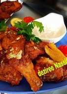 دجاج مقلي مع زبدة وثوم وليمون ❤