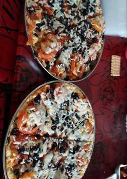 بيتزا الخضار روعة