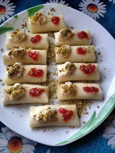 طريقة عمل حلاوة الجبن اللبنانية