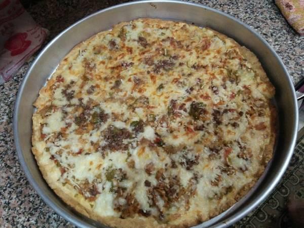 بيتزا شاورما فراخ