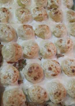 صينية كرات البطاطس