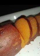 بطاطا حلوة بالزبدة والفلفل الأسود 😍