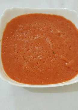 صلصة الطماطم الحارة (دقوس)