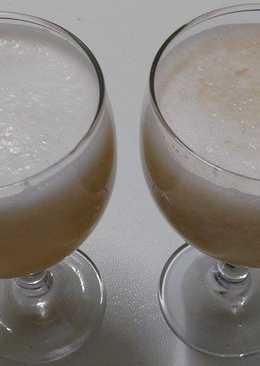 شراب البطيخ الأصفر (الأناناس) و الموز