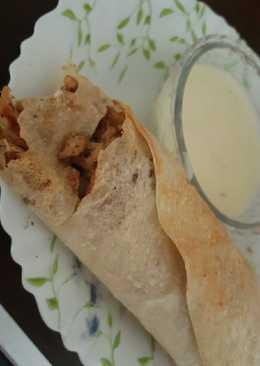 شاورما دجاج (صحية خفيفة ولذييذة)