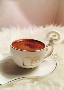 قهوة تركية مع الشوكولاته