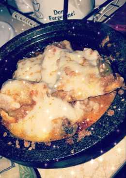 طاجن دجاج بالجبن