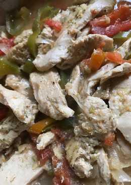 شرائح الدجاج بخلطة حمزة 🌶