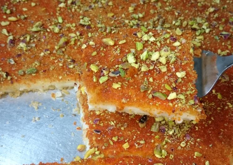 الكنافة الكذابة recipe main photo