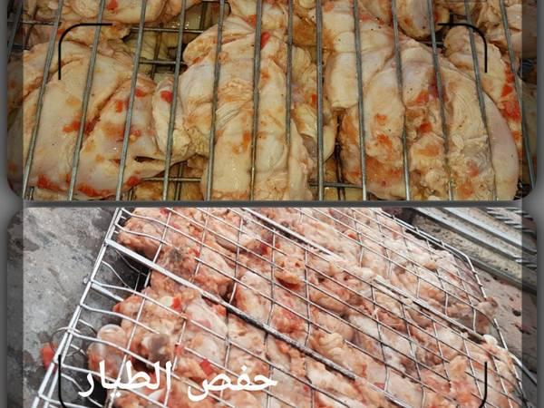 دجاج حامض مشوي