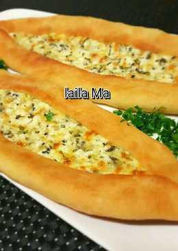 #خباز_كوكباد فطائر البيدا التركية بحشوة الجبنة 🧀👌