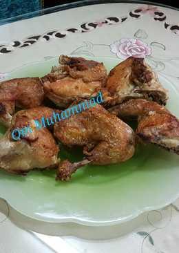 دجاج محمر بالسمن البلدي 🍗👌👍🍗# ملك _الدجاج
