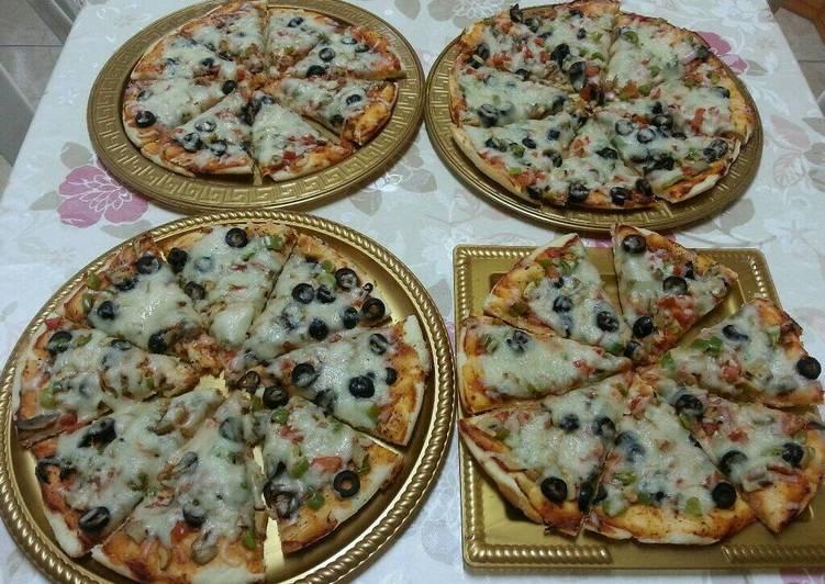 بيتزا الخضار