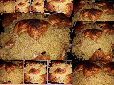 برياني دجاج