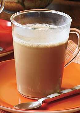طريقة عمل مشروب الحليب بالنسكافيه