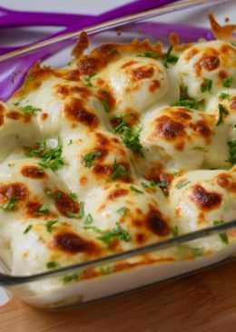صينية كرات البطاطس بالجبن