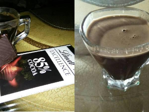 قهوة بالشيكولاتة